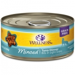 Wellness Complete Health Minced Tuna Dinner Cat Canned
