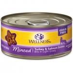 Wellness Complete Health Minced Turkey & Salmon Entree Cat Canned