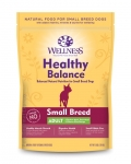 Wellness Healthy Balance Small Breed Adult Dog Dry Formula 5lbs