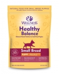 Wellness Healthy Balance Small Breed Puppy Dog Dry Formula 28lbs
