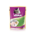 Whiskas Pouch Tuna & Whitefish Cat Wet Food