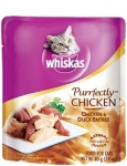 Whiskas Purrfectly Pouch Chicken Chicken & Duck Entree