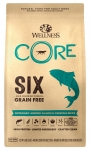 Wellness Core Six Grain Free Salmon Dog Dry Food 22lb