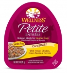 Wellness  Small Breed Petite Entrees Casserole Tender Chicken, Green Beans & Carrots 3oz