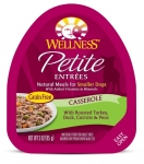 Wellness  Small Breed Petite Entrees Casserole Roasted Turkey, Duck, Carrots & Peas 3oz