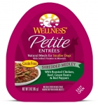 Wellness  Small Breed Petite Entrees Shredded Medley Roasted Chicken, Beef, Green Beans & Red Peppers 3oz