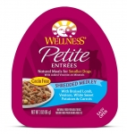 Wellness  Small Breed Petite Entrees Shredded Medley Braised Lamb, Venison, White Sweet Potatoes & Carrots 3oz