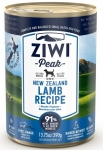 ZIWI Peak Lamb Canned Dog Food 390g